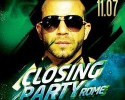 Gorillas Closing party Rome | July 11th 2015
