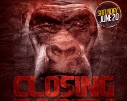 Gorillas Closing party Bologna | June 20th 2015