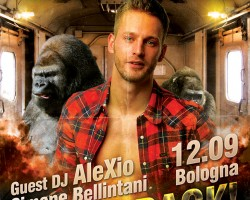 Gorillas opening party Bologna | September 12th 2015