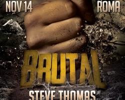 "Gorillas ""Brutal"" men-only party | November 14th, Rome"
