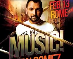 Gorillas men-only party Rome | 13.02.2016