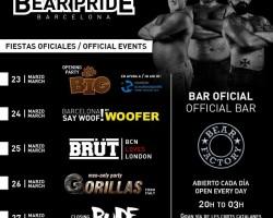 Gorillas men-only party | Bear Pride Barcelona 26.03.2016