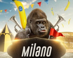 Gorillas men-only party Milano | 30.04.2016