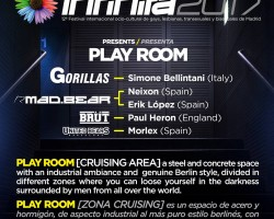 Infinita Play Room | World Pride Madrid 1.07.2017