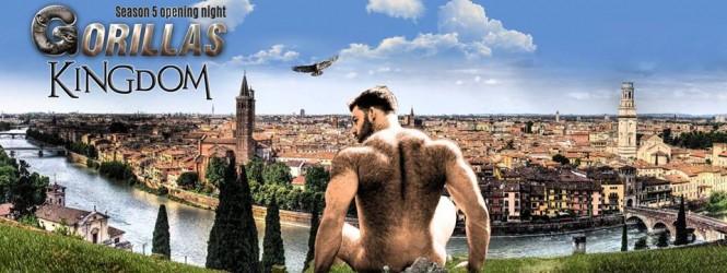 Gorillas men-only party Verona | 30.09.2017